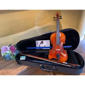 【ふるさと納税】No.230 アウトフィットバイオリン 1/2サイズ | バイオリン ヴァイオリン ケース 弦 弓 セット 高級 初心者 鈴木バイオリン