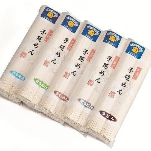 【ふるさと納税】12-096:三州高浜手延べめん 乾麺5品セット定期便(計3ケース)