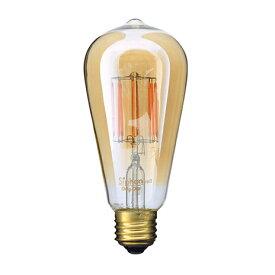 【ふるさと納税】アンティーク型フィラメントLED電球Siphonサイフォン「Edisonエジソン」LDF30A 【雑貨・日用品】