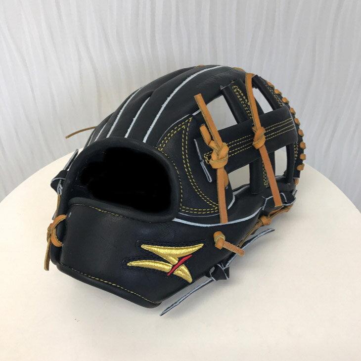 【ふるさと納税】SAEKI 野球グローブ【軟式・ショート用】【ブラック】【親指・バンド部一体型】