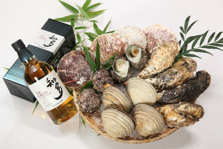 【ふるさと納税】 魚太郎 鮮度抜群の活貝セット(サントリーウイスキー知多)