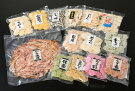 【ふるさと納税】BIGなイカの鉄板焼きと高級素焼き(ノンフライ)えびせんべい14袋の詰合