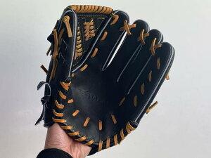SAEKI野球グローブ【硬式・品番112】【ブラック】【Rオレンジ】