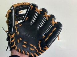 SAEKI野球グローブ【硬式・品番140】【ブラック】【Rオレンジ】
