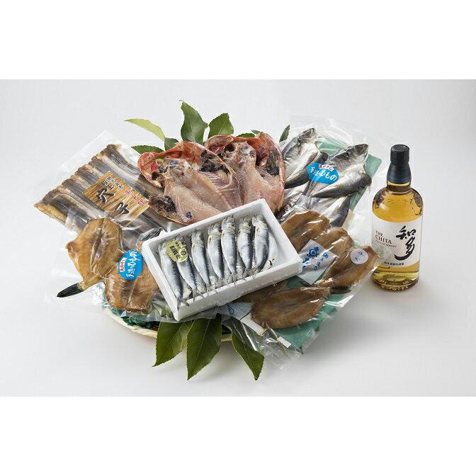 【ふるさと納税】 魚太郎 知多の地魚干物セット(知多ウィスキー付)