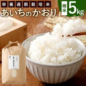 【ふるさと納税】幸田町産 栄養週期栽培米 あいちのかおり 5kg 1袋 米 お米 白米 精米 令和2年産 送料無料