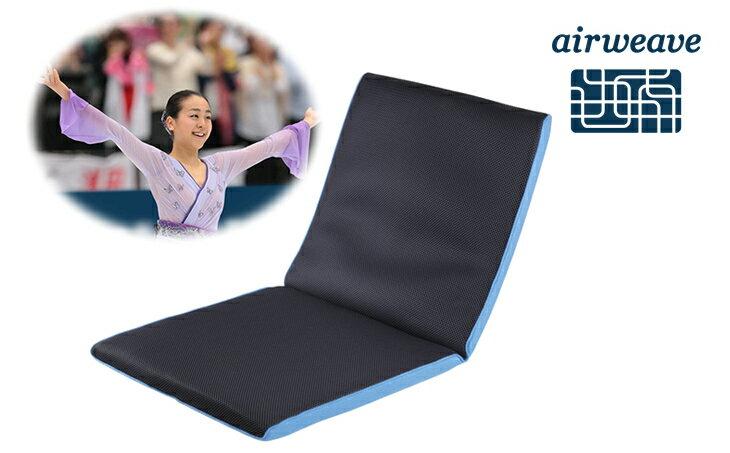 【ふるさと納税】エアウィーヴ 座 クッション(キャリーバッグ付) 椅子 高反発 オフィス用品 日用品