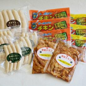 【ふるさと納税】【鶏肉が格別です】懐かしの味〜東栄チキン5種〜【1020451】