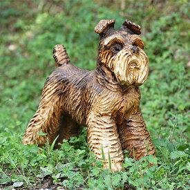 【ふるさと納税】【チェンソーアート】 犬 (中)【1032407】