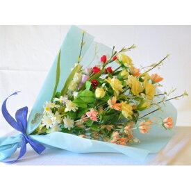 【ふるさと納税】まゆ花 季節の花束(10本)【1033447】