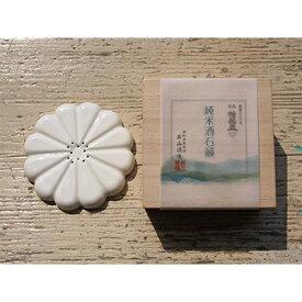 【ふるさと納税】愛知県東栄町 蜂龍盃「純米酒石鹸」と「石鹸置き(白)」ギフトセット【1108015】
