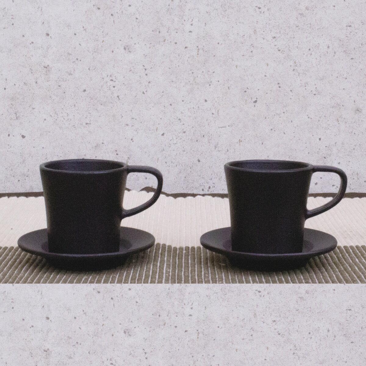 【ふるさと納税】 桑原鋳工 鋳物製エスプレッソカップペアセット