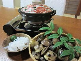 【ふるさと納税】 日の出 桑名産天然はまぐり鍋セット(出汁付)