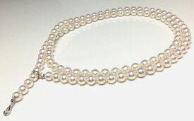 【ふるさと納税】老舗の真珠専門店・高品質アコヤロングネックレス 7.5〜8.0mm・90cm