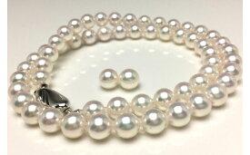 【ふるさと納税】老舗の真珠専門店・高品質アコヤ真珠ネックレスセット6.5〜7.0ミリ