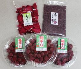 【ふるさと納税】40年作り続けてきた無添加梅干しと季節の食べ物セット