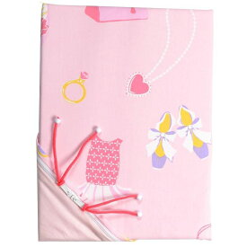 【ふるさと納税】ぐるっと楽々ふとんカバー オズガール 掛け布団カバー ジュニアサイズ【ピンク】