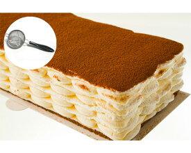 【ふるさと納税】No.166 ティラミル、ストレーナーセット / ティラミスのミルクレープ 洋菓子