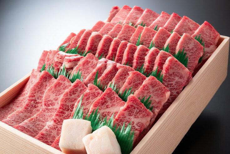 【ふるさと納税】近江牛肉バラ焼肉希少部位1kg折箱入り 【牛肉 ランキング 極上 ブランド 旨み たっぷり 訳 送料無料 ポイント制もあり BBQ バーベキュー】