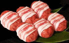 【ふるさと納税】新食感!モチモチ牛とろハンバーグ6個 【牛肉 ランキング 極上 ブランド 牛肉 旨み たっぷり 送料無料 ポイント制もあり 】