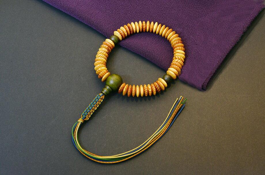 【ふるさと納税】1400年の歴史を誇る近江の数珠職人が手掛けた念珠(男性用)F001_a