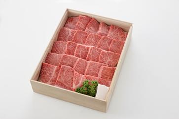 L002【ふるさと納税】近江牛 特選焼肉 (厚切り)