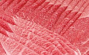 RK-054【ふるさと納税】【日本三大黒毛和牛】【近江牛】純近江牛すき焼き・しゃぶしゃぶ用極上モモ肉スライス 500g