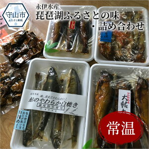 【ふるさと納税】永伊水産「琵琶湖ふるさとの味・詰め合わせ」