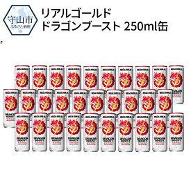 【ふるさと納税】リアルゴールド ドラゴンブースト 250ml缶【滋賀県守山市】