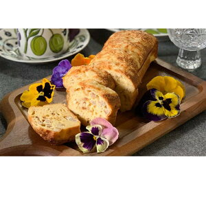 【ふるさと納税】熟成玉ねぎとチーズのケークサレ 【惣菜・玉ねぎ・チーズ・ケークサレ・ケーキ】