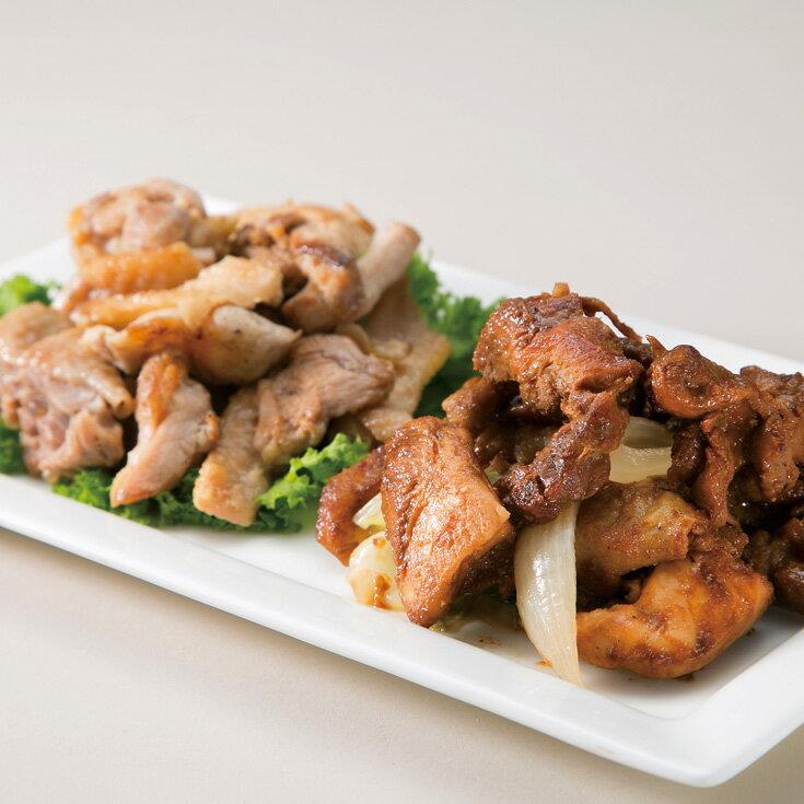 【ふるさと納税】【T-403】鳥中 親鶏食べ比べセット
