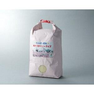 【ふるさと納税】012h15  ハニーライス白米 キヌヒカリ6kg ※注文いただいてから精米します。