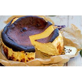 【ふるさと納税】希少!とよ坊かぼちゃんのクリーミィ半熟チーズケーキ(バスク風) 【お菓子・チーズケーキ・バスク風・ケーキ・洋菓子】