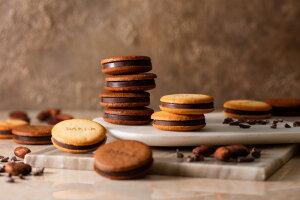 【ふるさと納税】【Dari K】カカオサンドクッキー2種食べ比べセット|サンドクッキー カシューチョコチョコレート 6枚 1箱 スイーツ 洋菓子 詰め合わせ 逸品 お取り寄せ ご当地 ギフト お祝い