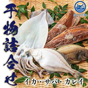 【ふるさと納税】やまいち自慢、干物詰め合わせセット 【魚貝類・干物・干物詰め合わせ・カレイ・イカ・鯖・サバ】