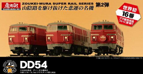 【ふるさと納税】SRS HOゲージ DD54ディーゼル機関車5次形