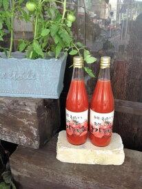 【ふるさと納税】本物のトマトの味がする! 無添加・無塩 旬熟 いずみのトマトジュース 720ml×4本※7月末以降の発送となります
