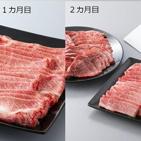 【ふるさと納税】100N306 頒布会 京都平井牛食べ比べコース[高島屋選定品]