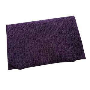 【ふるさと納税】正絹縮緬台付ふくさ 重め (紫)【1104287】