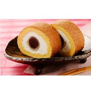 【ふるさと納税】けし餅ロール(2本入) 【もち菓子・和菓子・生菓子・お菓子・スイーツ・ロールケーキ】