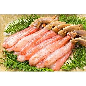 【ふるさと納税】生ズワイ蟹 蟹しゃぶ用棒肉 5L (500g)【1093690】