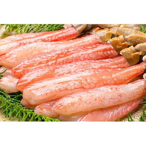 【ふるさと納税】生ズワイ蟹 蟹しゃぶ用棒肉5L〜4L 1kg【1093691】