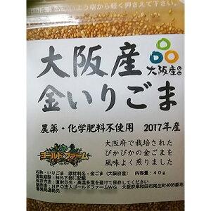 【ふるさと納税】大阪産(もん)金いりゴマ 7袋【1101362】