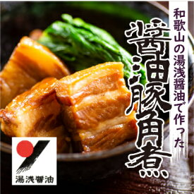 【ふるさと納税】湯浅醤油豚角煮 5本セット(1kg)【1075972】