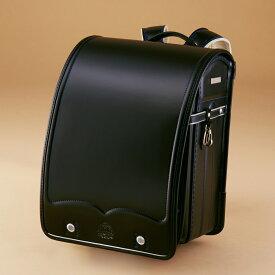【ふるさと納税】K104 ミキハウス クラリーノタフロックランドセル(黒)