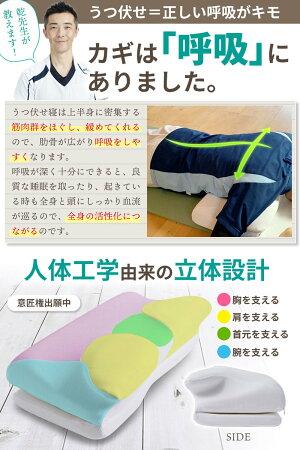【ふるさと納税】うつ伏せ枕「ReBABY」スマホ枕低反発まくら「うつぶせ1分で健康になる」理学療法士監修