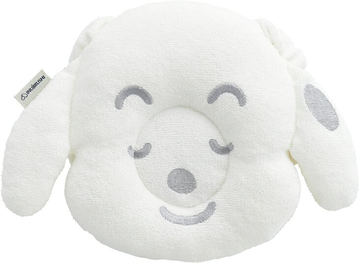 【ふるさと納税】抱っこマクラ(ホワイト)+ガーゼハンカチ3P(クリーム)