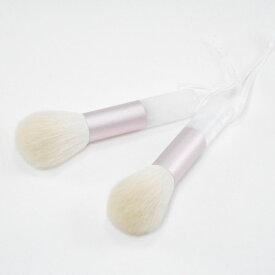 【ふるさと納税】山羊毛100%洗顔ブラシ2本セット