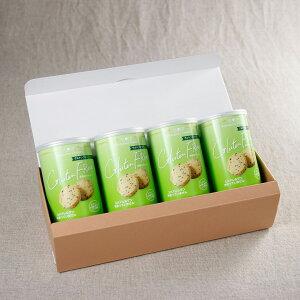 【ふるさと納税】長期保存クッキー 小麦・乳製品不使用4缶入り