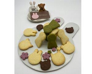 【ふるさと納税】No.114 しあわせの宝石箱(古墳&うさぎのいろいろクッキー缶) / クッキー 缶 詰め合わせ かわいい 洋菓子 焼き菓子 国産小麦